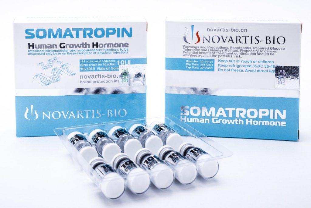 Somatropin Human Growth Hormone injections